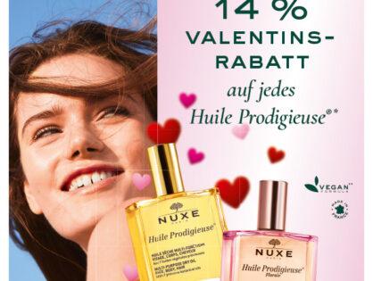 NUXE Paris - 14% Valentinsrabatt